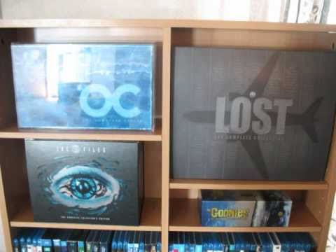 my complete tv dvd series collection box sets lost oc x files more youtube. Black Bedroom Furniture Sets. Home Design Ideas