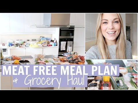 VEGETARIAN FAMILY GROCERY HAUL/FOOD SHOP | MEAT FREE MEAL IDEAS