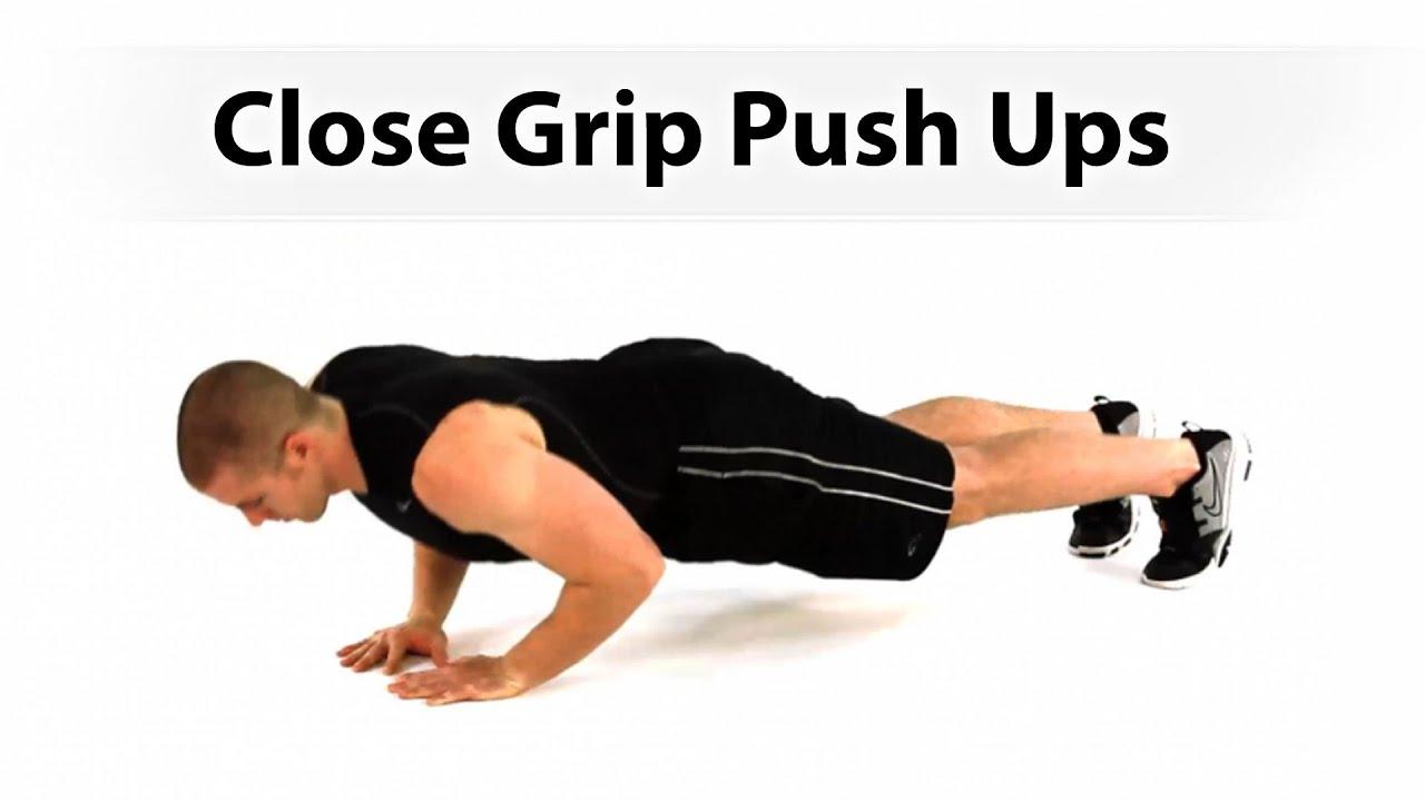 How To Do A Close Grip Push-Up