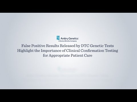 False Positive Results Released by Direct-To-Consumer Genetic Tests | Ambry Genetics