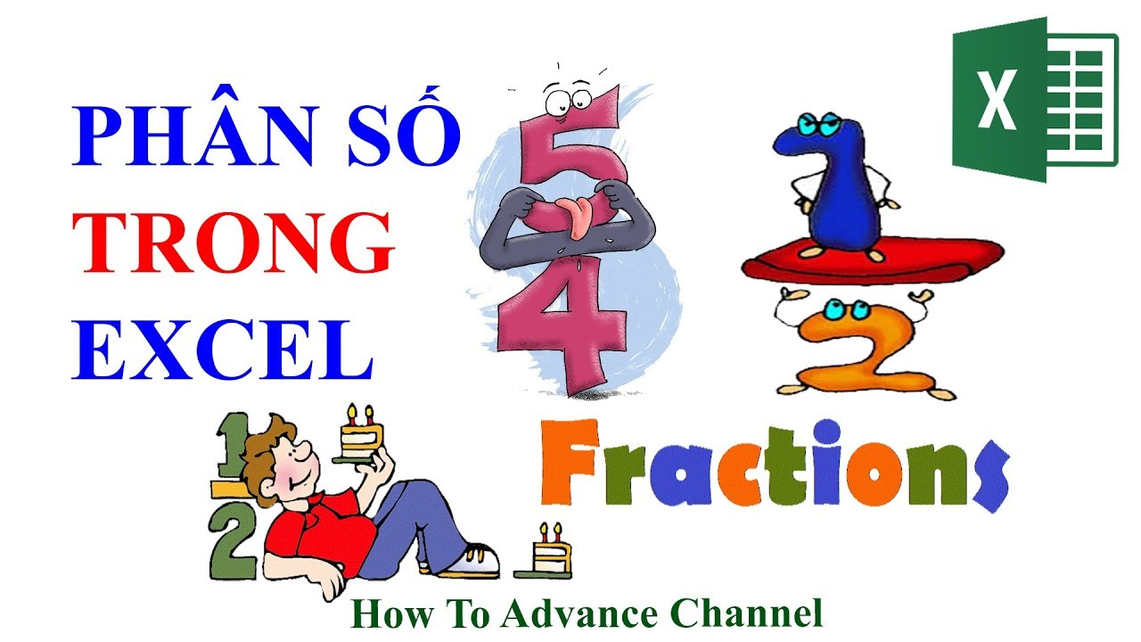 Viết Phân Số Trong Excel - Fraction in Excel