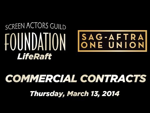 The Business: SAG-AFTRA Commercial Contracts