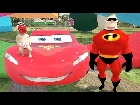 Patron Bebek Örümcek Bebek Oldu Babası İnanılmaz Adamla Oyun Parkında (GTA 5 Komik Anlar)