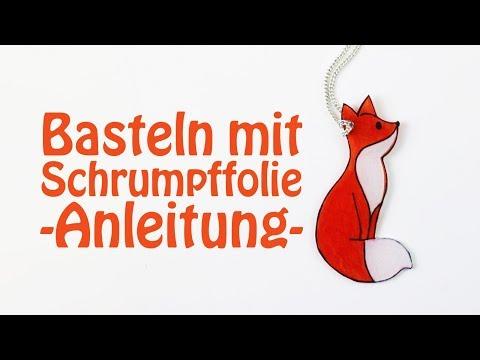 Top Basteln mit Schrumpffolie - Anleitung, DIY-Ideen + Vorlagen - Talu.de ZE24