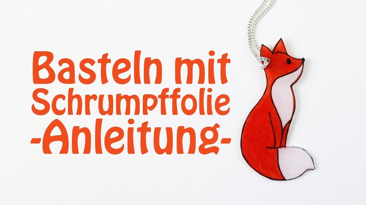 Beliebt Basteln mit Schrumpffolie - Anleitung, DIY-Ideen + Vorlagen - Talu.de OC57