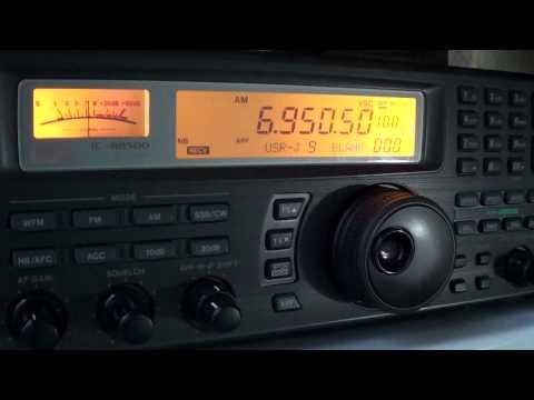 MAC Shortwave Radio Pirate 6950 5 Khz AM 2300 UTC