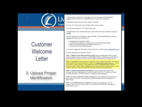 Customer Welcome Letter