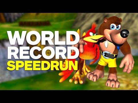 Banjo-Kazooie World Record Speedrun