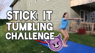 Stick It Gymnastics Challenge