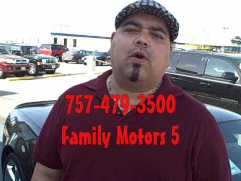 Family motors used car bad credit auto loan virginia beach for Family motors used cars