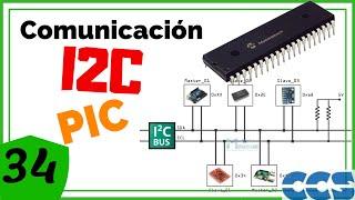 Tutorial 17.1 Comunicación I2C Parte1- Programación de PIC en CCS C (PIC C)