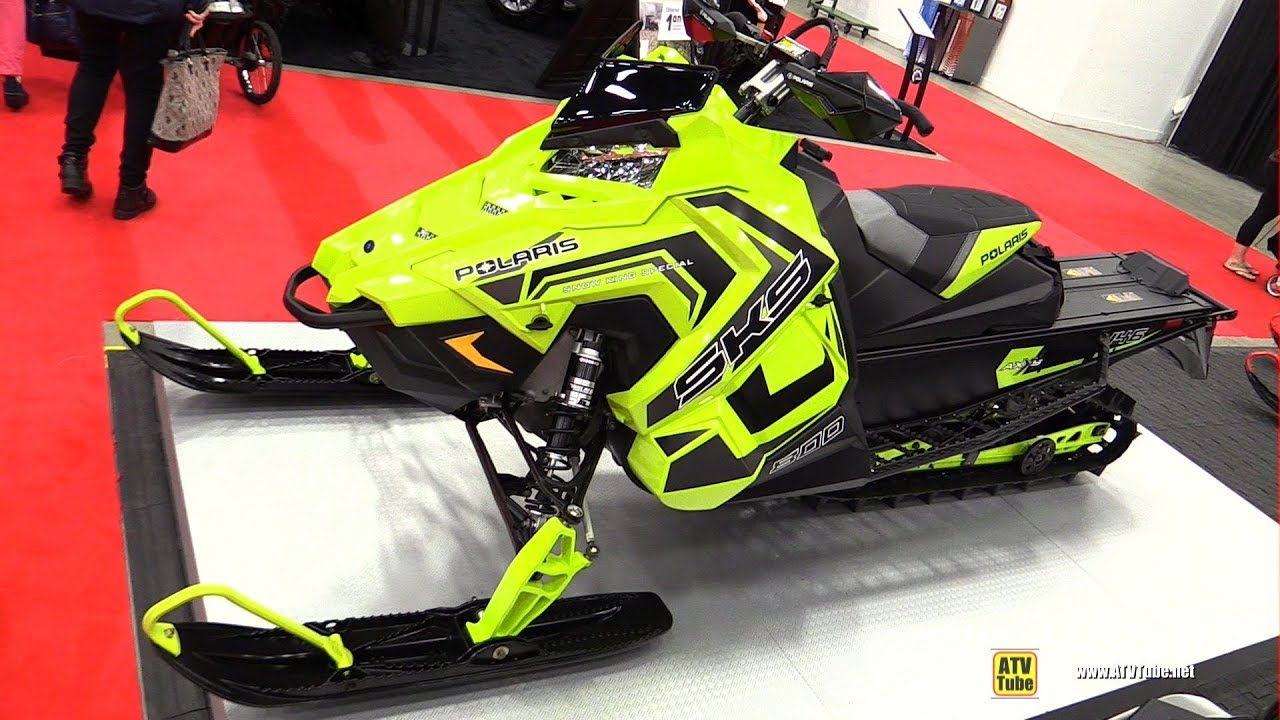 2018 Polaris Sks 800 Snow King Special Sled Walkaround 2017 Drummondville Atv Show