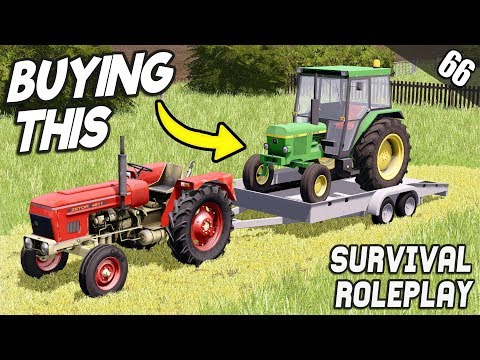 I BOUGHT THE RUNAWAY TRACTOR!! - Survival Roleplay | Episode 66 thumbnail
