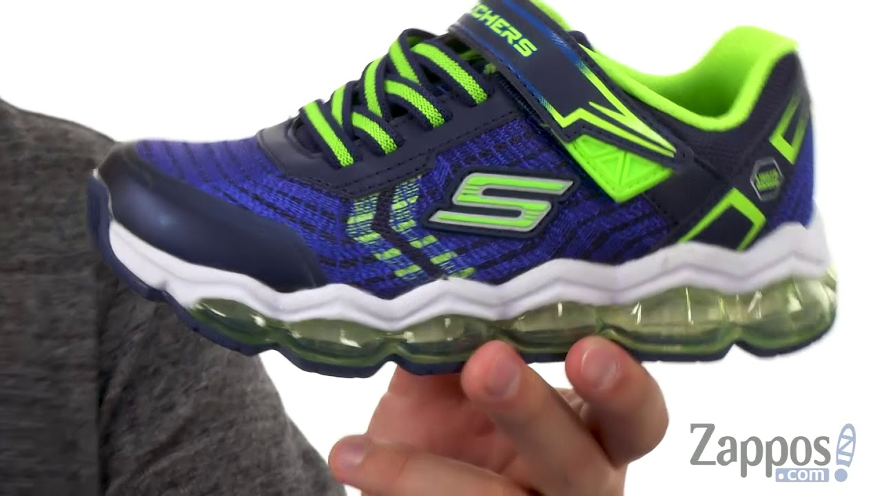 Little Kid//Big Kid Skechers Kids Boys Skech Air Turbo Shock Sneaker