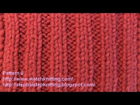 727372263bc2 Dual Rib Stitch - Free Knitting Patterns Tutorial - Watch Knitting ...