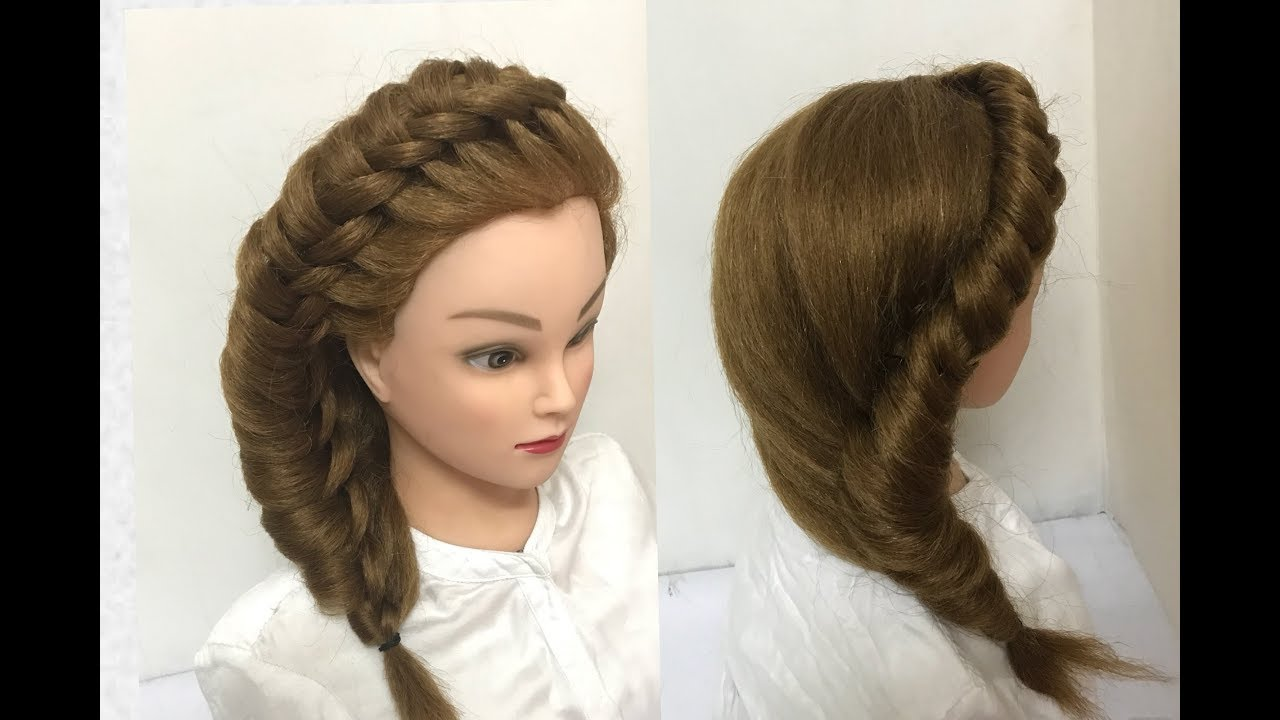Awesome Knotted Braid Hairstyle Easy Hairstyles Youtube