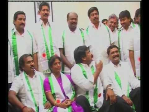 Image result for praja rajyam party chiri
