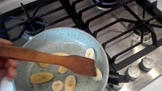 Готовлю яйцо с бананом