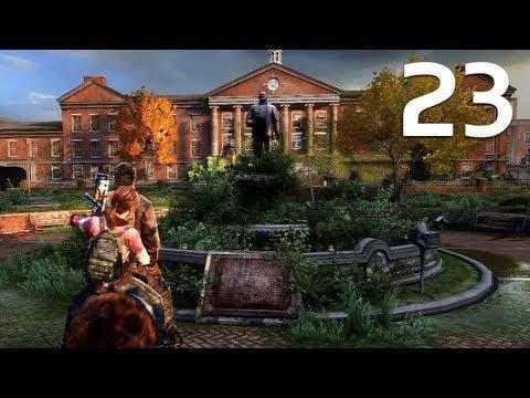 The Last Of Us - Walkthrough Part 23 - The University (Survivor Difficulty)