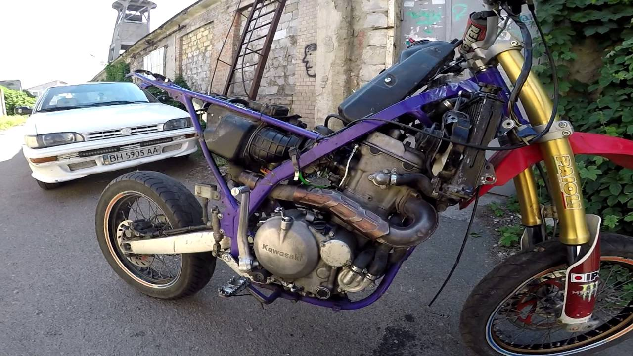 Motard Kawasaki Klx 650 R