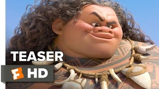 Moana Teaser TRAILER 1 (2016) - Dwayne Johnson Animated Movie HD
