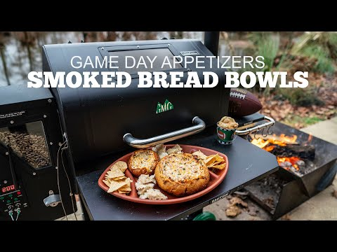 "Best Game Day Appetizers | Pellet Smoked Bread Bowl aka ""Mississippi Sin Dip"""