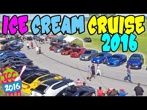 BIGGEST Car Show in the MIDWEST!? - ICE CREAM CRUISE 2016!!
