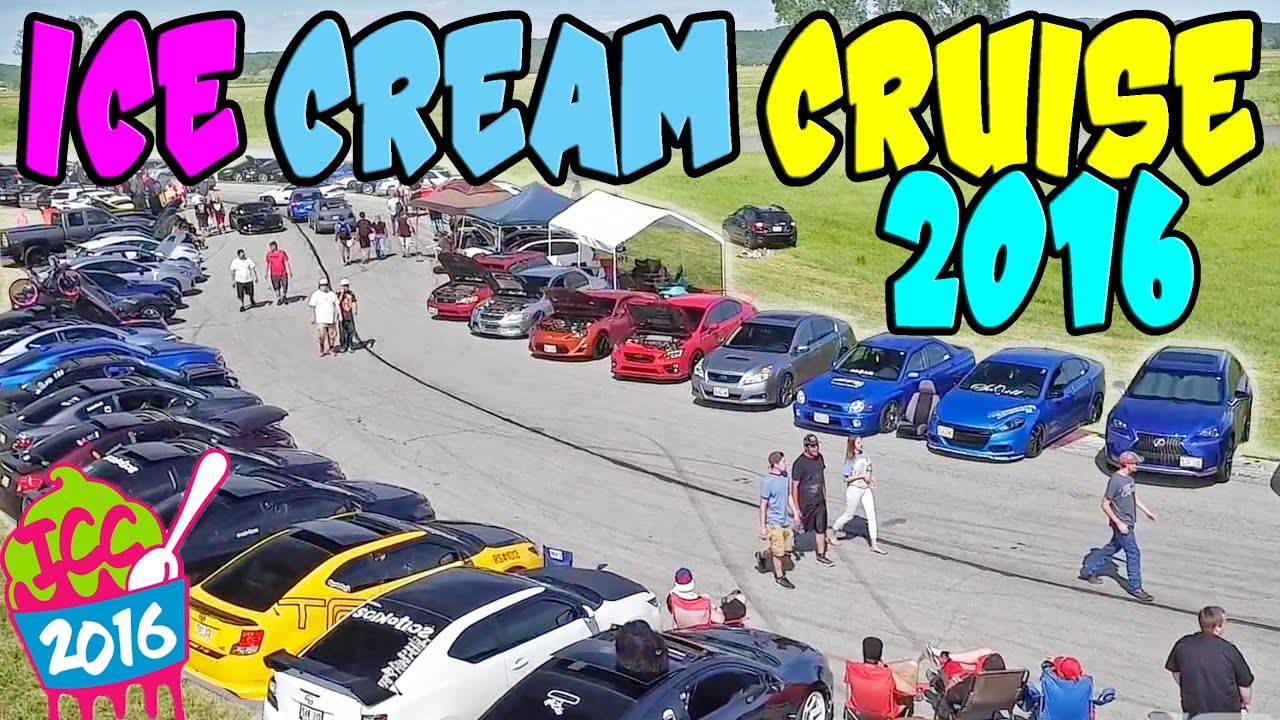 BIGGEST Car Show In The MIDWEST ICE CREAM CRUISE YouTube - Omaha car show