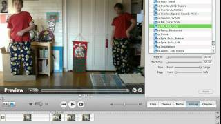 iMovie Special Effects Tutorial: Cloning