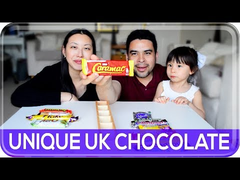 Part 2: AMERICANS TRY UNIQUE BRITISH CHOCOLATE! | The Postmodern Family EP#138