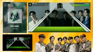 [SUPERSTARJYP] GOT7 - RUN AWAY (HARD MODE)