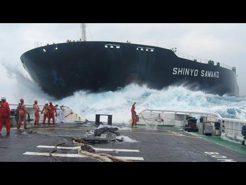 10 heftige Momente auf hoher See
