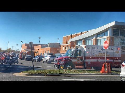 Officials speak about Woodson High School fire