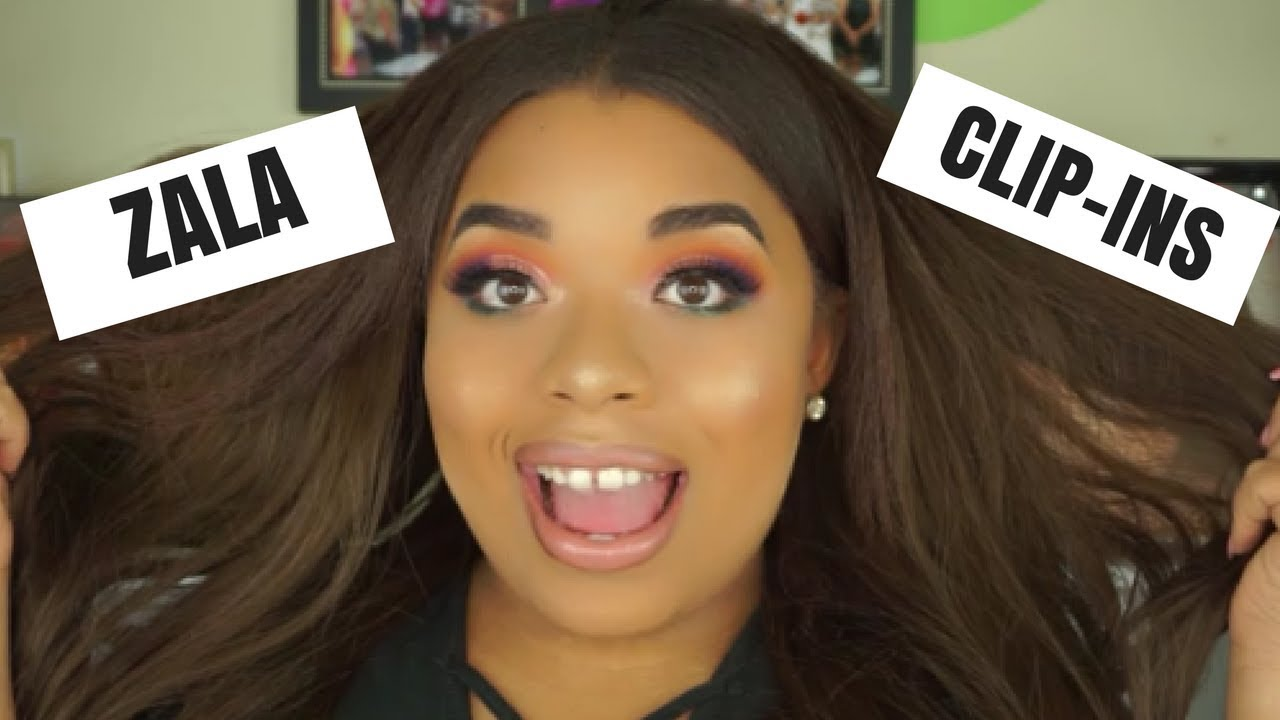 Zala Clip In Extensions Hair Review Youtube