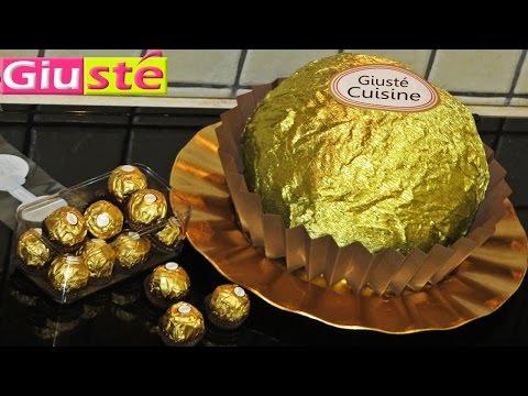 gâteau-facon-ferrero-rocher-géant-xxl