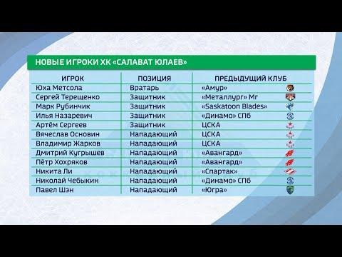 ХК «Салават Юлаев» усилился 12 новыми игроками
