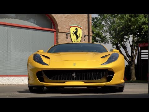 FIRST DRIVE! Ferrari 812 Superfast Review - 800hp Road Weapon!