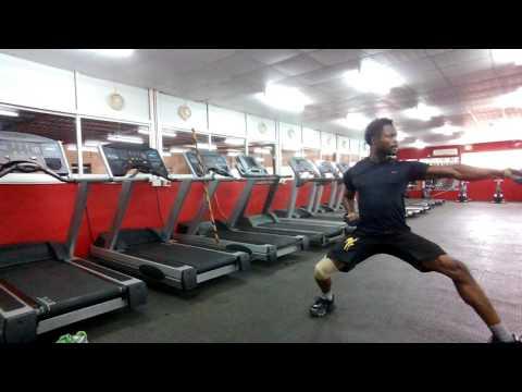 Préparation physique Clery Aboya, cameroun karaté