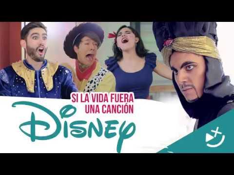 Si La Vida Fuera Una Canción DISNEY - CRAX Ft. Roger González