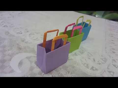 52622a85e49d DIY : Сумочка Для Кукол из Бумаги Своими Руками***Оригами Сумочка***Paper  Bag***ДЕНЬ РОЖДЕНИЯ