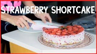 Strawberry Shortcake - Raw Vegan Style