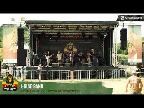 I-Rise Band beim Black Forest on Fire Reggae Festival 2017 in Berghaupten