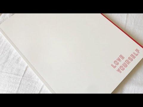 BTS Love Yourself Concert Program Book Unboxing | KRAPSYK