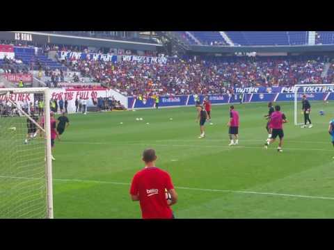 Neymar skills-FC Barcelona at Red Bull Arena NJ