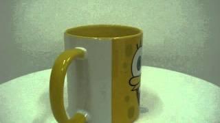 Caneca Personalizada Bob Esponja - Spongebob Mug - YesOriginal