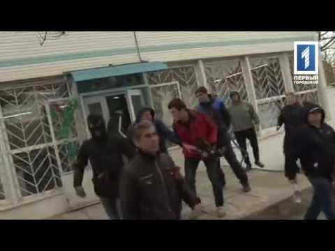 Pro Russian Separatists attack journalits in Odesa