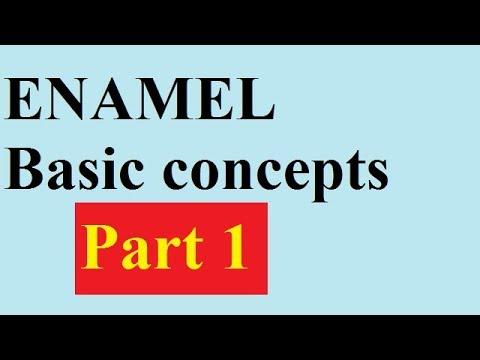 Enamel Part 1 BASICS