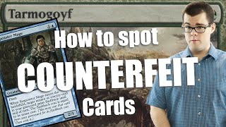 How to Spot Counterfeit Cards!
