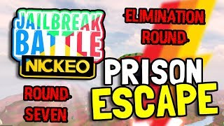 PRISON ESCAPE! - Round #7 - Jailbreak Battles Competition For Over 1,000 Robux! (Roblox)