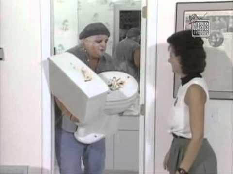 Dusty Rhodes Plumber Vignette Promo 1989